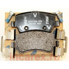 Колодки тормозные задние S-max эл.ручник