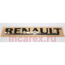 Надпись Renault