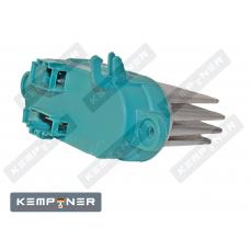 Резистор вентилятора отопителя AUDI Q7 (05-15), VW TOUAREG (02-10), TRANSPORTER T5 (03-..)